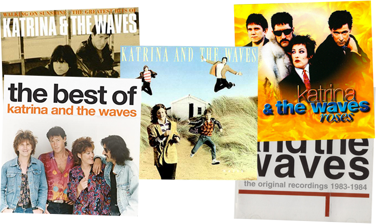 Katrina and the Waves compilation albums montage image