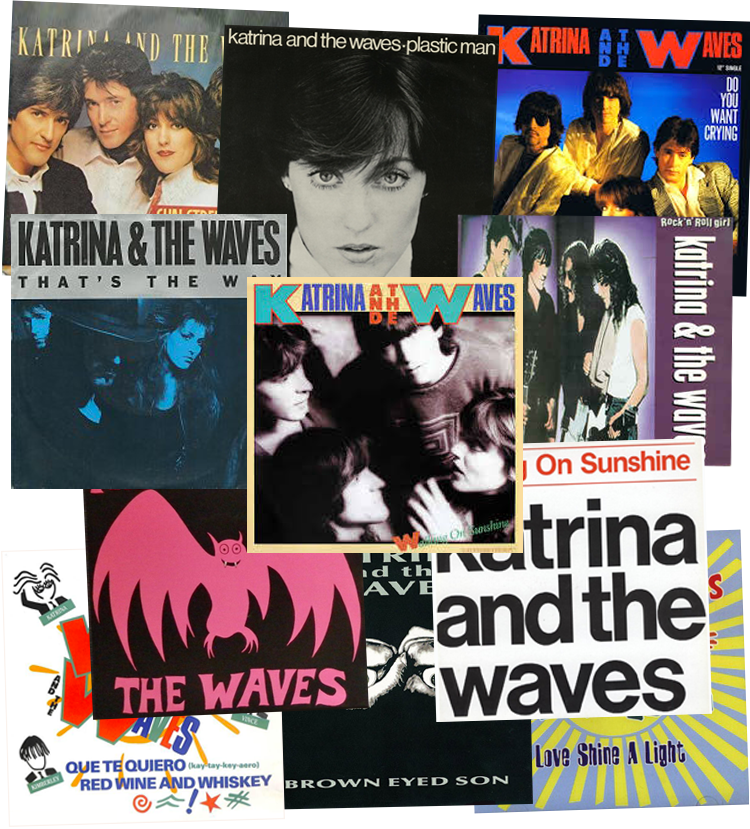 Katrina and the Waves singles montage image